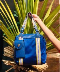 Bolsa Diadora Azul Saad