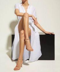 Sandália Gisele Verniz Nude Schutz